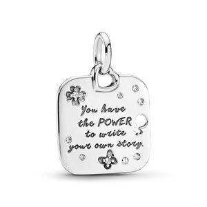 Pandora Female Empowerment Motto Pendant